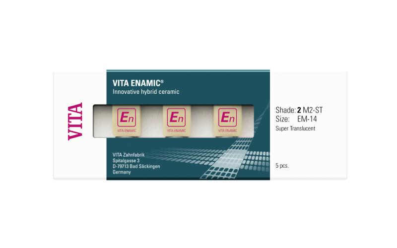 VITA Enamic CAD/CAM anyag